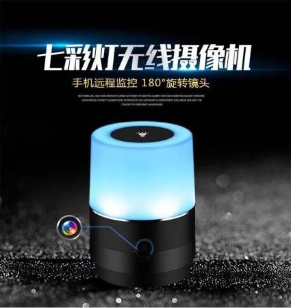 夜視小夜燈造型微型針孔攝影機 遠端監控
