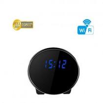 夜視時鐘微型針孔攝影機 wifi遠端監控 時鐘針孔攝影